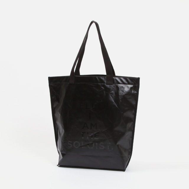 TAKAHIROMIYASHITATheSoloist. pvc shopping bag -M-.  [sa.0068aSS18]