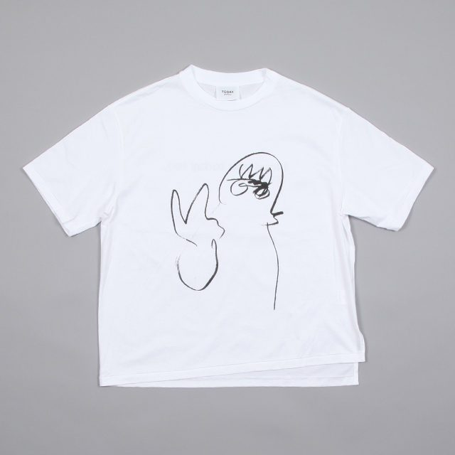 TODAY edition drawing tee 4 [bt-04]