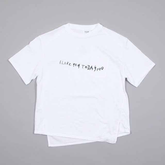 TODAY edition pocket tee 2 [bt-10]