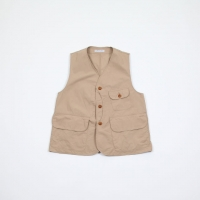 MOUNTAIN RESEARCH×BAMBOO SHOOTS TYPEWRITER CLOTH HUNTER VEST [1901023]