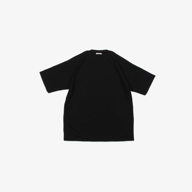 AURALEE HARD TWIST AMUNZEN DOUBLE CLOTH TEE [A20ST01KN]