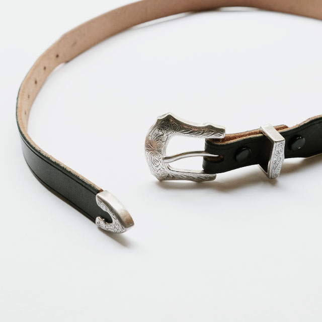Rooster King & co. Oiled Leather Western Belt