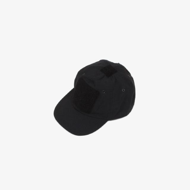 GR10K VELCRO STOCK COMBAT CAP BLACK [AW20_ACCGR002_BLK]