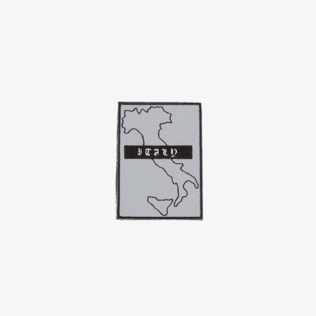 GR10K ITALY HARDWARE PATCH GREY [AW20_ACCGR003_GRY]