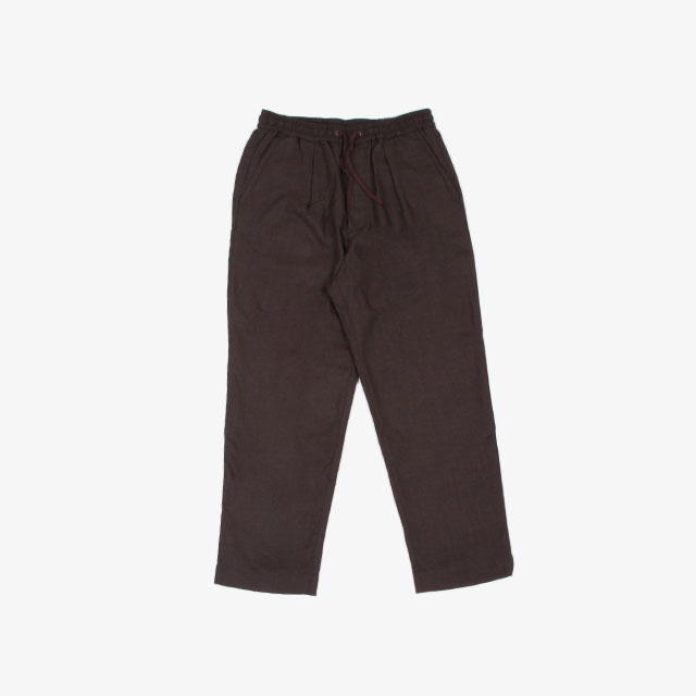 A VONTADE Comfort Wide Easy Trousers Brown [VTD-0423-PT-W]