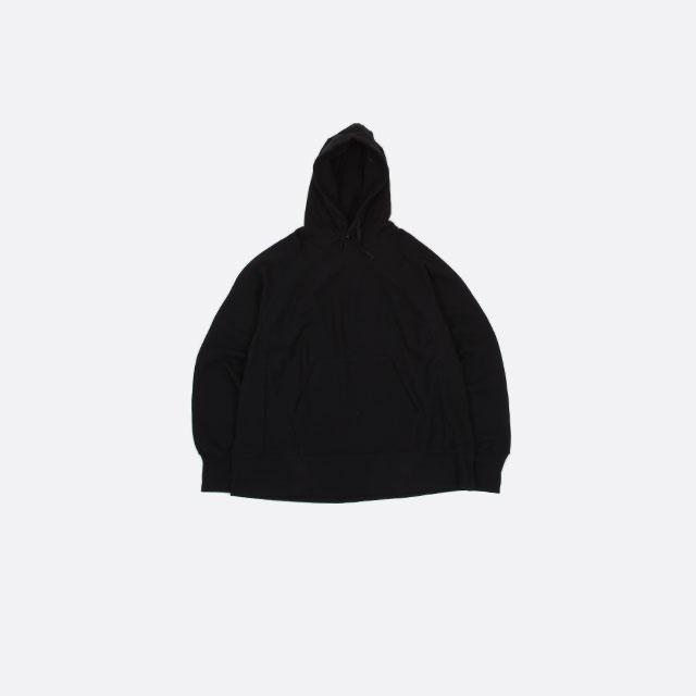 Engineered Garments Raglan Hoody – Fleece Black [HJ150]