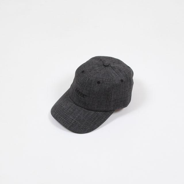 AFFIX STANDARD LOGO SHARKSKIN CAP GREY [AW20ACC06]