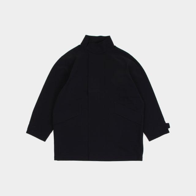 GR10K BONDED KERMEL COAT BLACK [AW20_UBGR003_BLK]