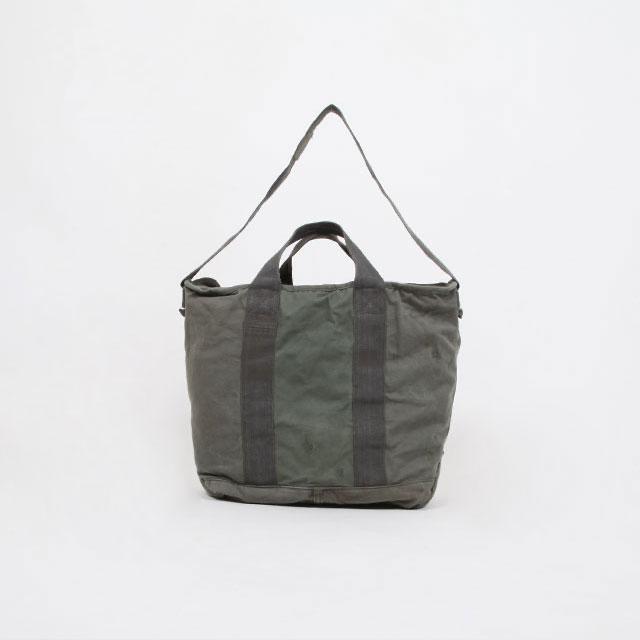 HEXICO DEFORMER TOTE BAG EX.US.AIR.FORCE KIT BAG .FLYER'S OLIVE  [2993]