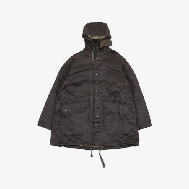 Engineered Garments Madison Parka – Coated Twill Dk.Olive [HJ311]