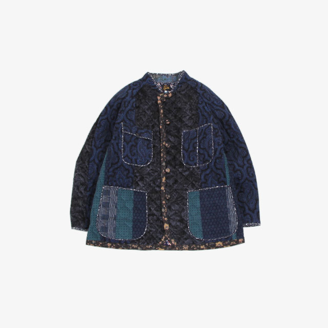 Needles Chore Coat – Switched Quilt Navy/Charcoal [HM138]