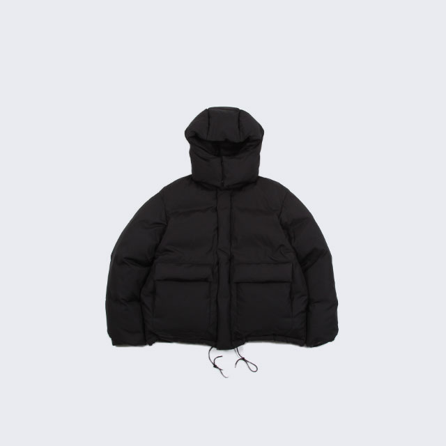 AURALEE SUVIN HIGH COUNT CLOTH DOWN JACKET BLACK [A20AB01SV]