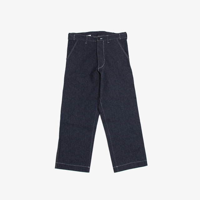 CAMIEL FORTGENTS Worker pants Denim Blue [10.05.06]