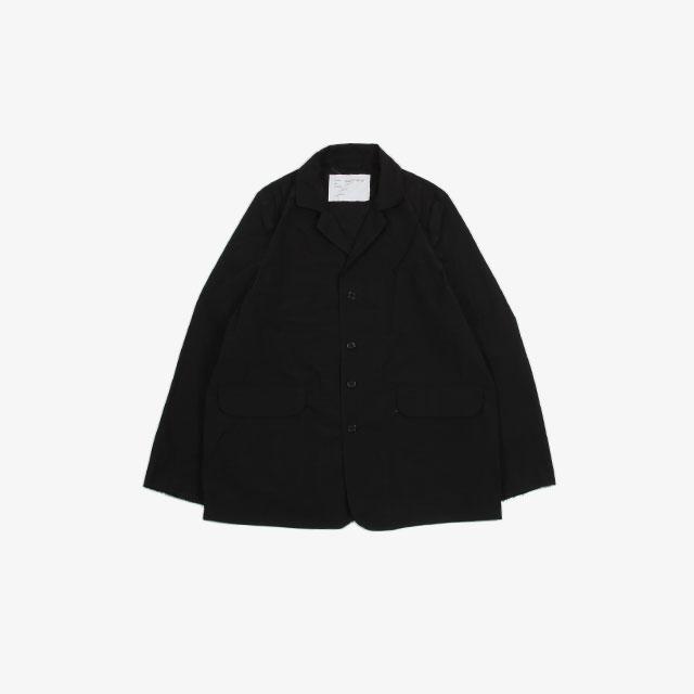 CAMIEL FORTGENTS Casual Suit Jacket Technical Black [10.08.05]