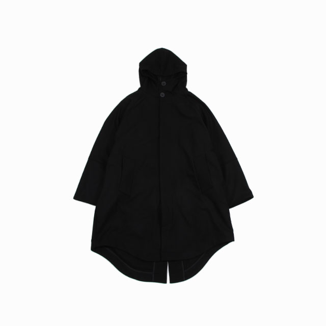 CINI Venezia NEW HOODED COAT – MOD.101 BLACK [C281CSU 610]