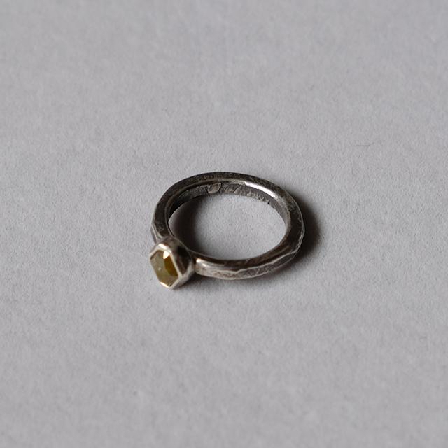 Mountain Metallurgy  Natural Stone Ring – Diamond