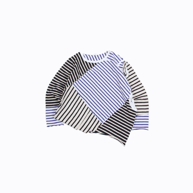 OLD PARK 2 WAY TEE #STRIPE [OP-399]