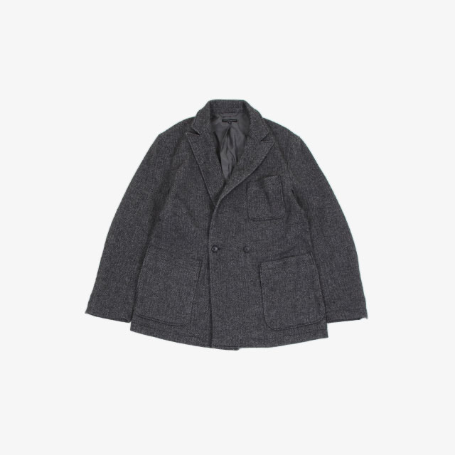 Engineered Garments Newport Jacket – Poly Wool HB Grey [HJ340]