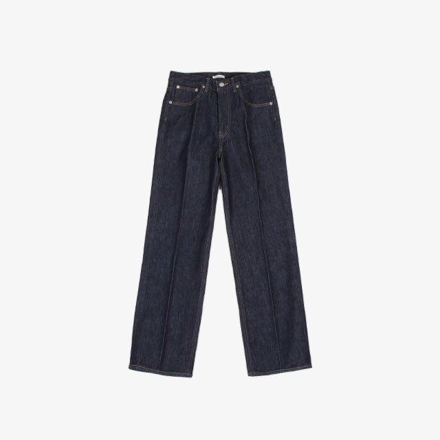 AURALEE HARD TWIST DENIM 5P PANTS