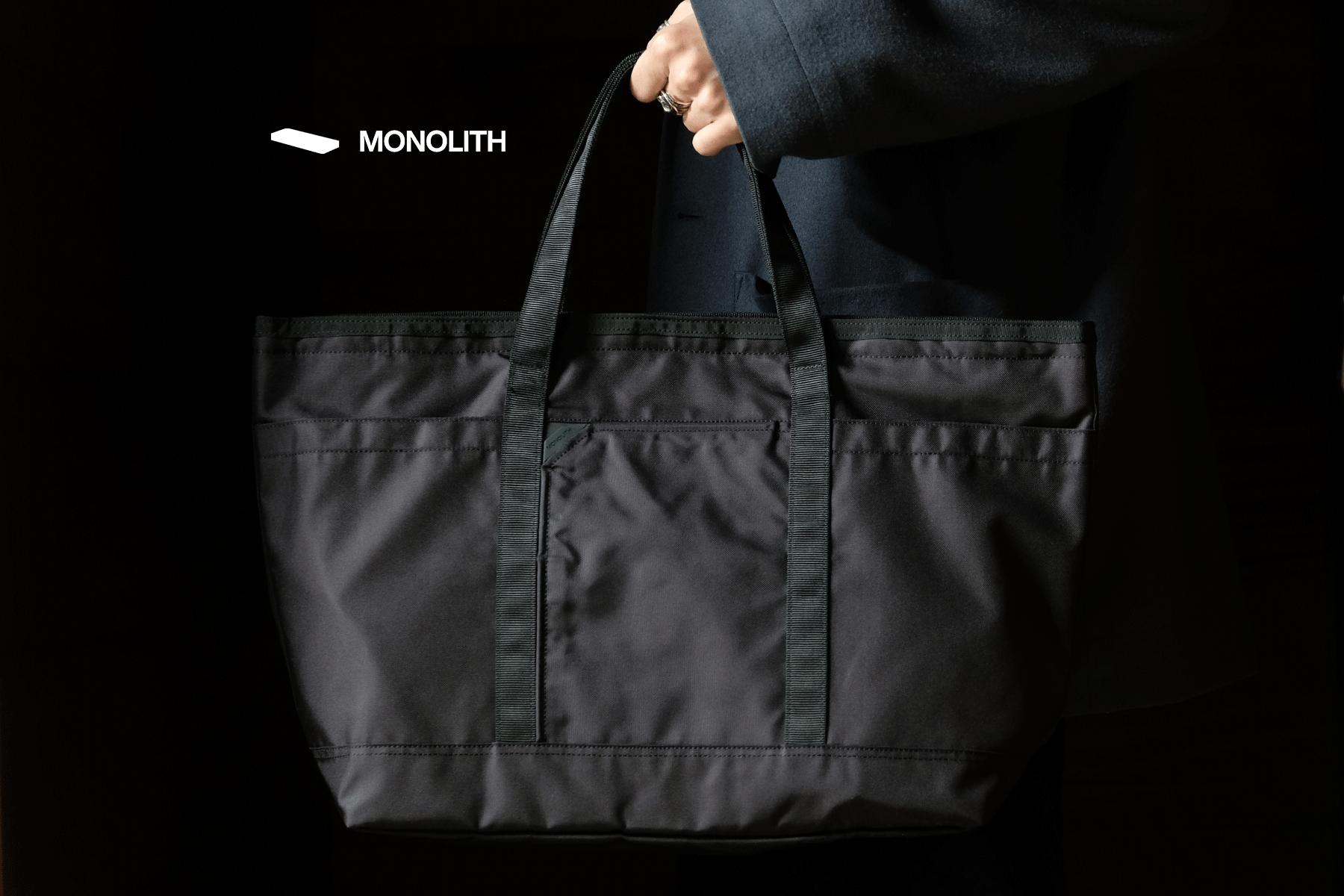 MONOLITH|モノリス NEW LABEL BAG