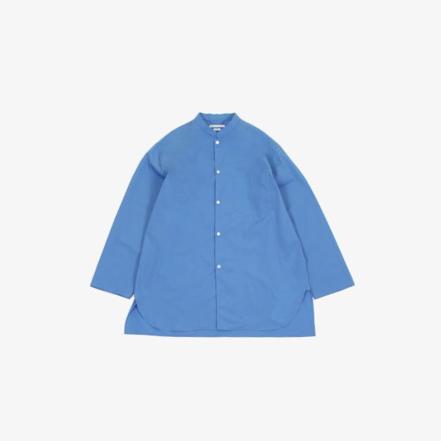 blurhms High Count Chambray Stand-up Collar Shirt  [BHS20SS019S21]