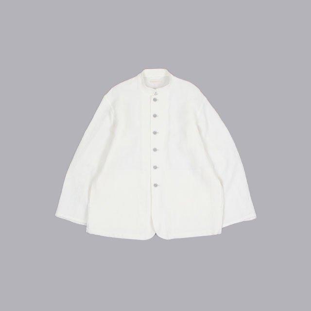 blurhms Wash Linen Hospital Jacket [BHS21S006]