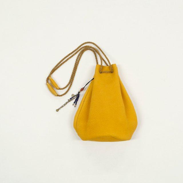 TWENTY SEVEN NINE 27/9 Mini Leather Bag with Tharu Beads