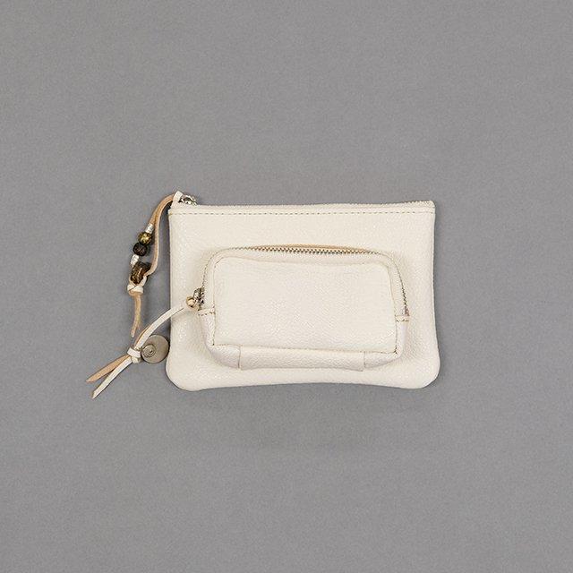 TWENTY SEVEN NINE 27/9 Custom Order Docking Wallet – Goat Skin