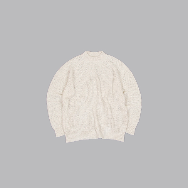 O project KNITTED CREW NECK [11KN2]