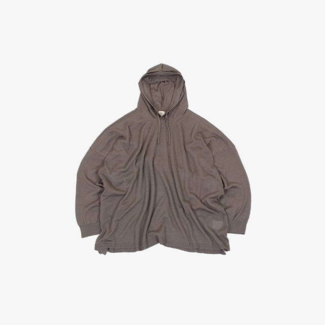 O project KNITTED HOODED [11KN3]