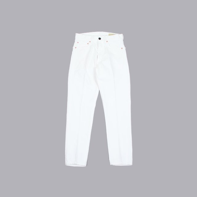 cantate Denim Tapered Trousers OFF WHITE [21SSCA0263]