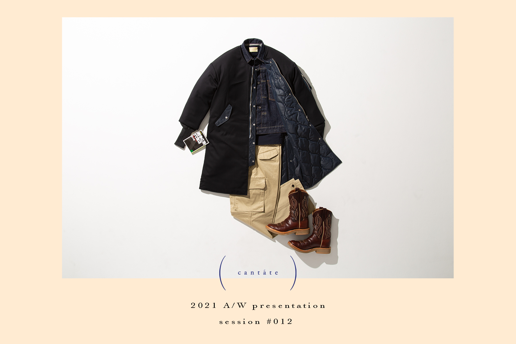 cantate 21SS EXHIBITION & 21AW PREVIEW