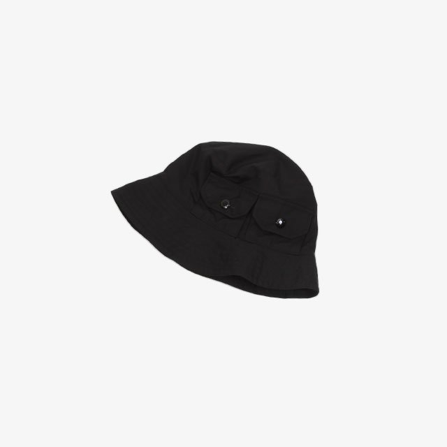 Engineered Garments Explorer Hat – PC Poplin Black [IK289]