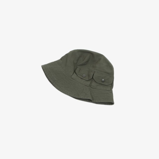 Engineered Garments Explorer Hat – Cotton Ripstop Olive [IK288]