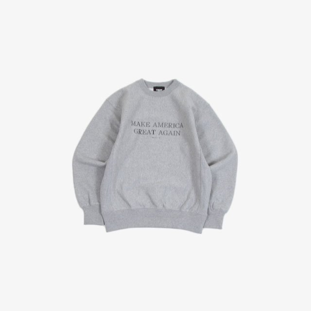TODAY edition ART CN SWEAT GRAY [21SS-02]
