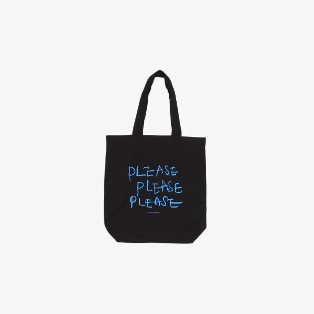 TODAY edition MESSAGE 1 TOTE BAG – PLEASE PLEASE PLEASE  [21ss-22]