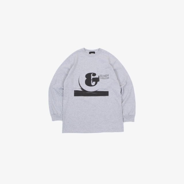 TODAY edition & LS Pocket Tee SPORTS GRAY [21ss-20]