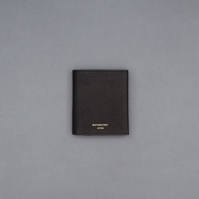 MOTORATORY Pocket Wallet Black [005]