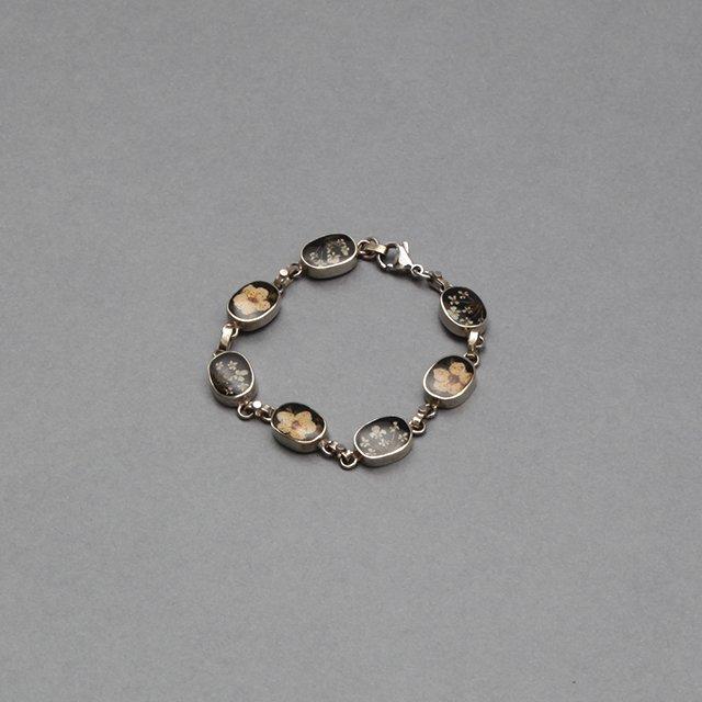 niche. Flower Chain Bracelet  [S21-ajuz-44]
