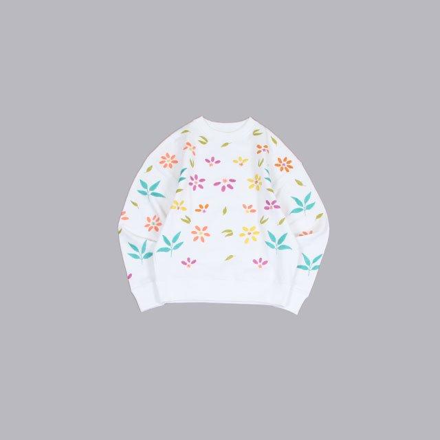 niche. Flowers EMB C/N Sweat-Pastel [S21-igac-16]