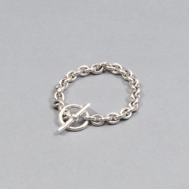 LAVER 10mm Cable Chain T Bar Bracelet [no.3]
