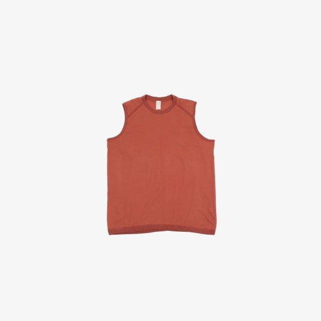 O project WIDE FIT SLEEVELESS TEE – JERSEY [11TS6]