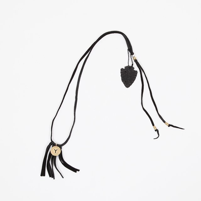 Rooster King & co. Coin Necklace – Black