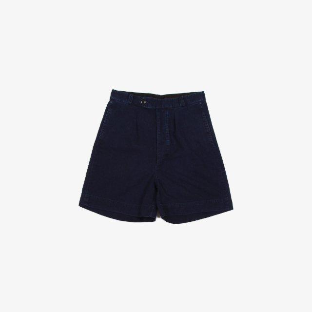 ETS.MATERIAUX  ETS.Denim Shorts INDIGO BLUE [21031300260210]