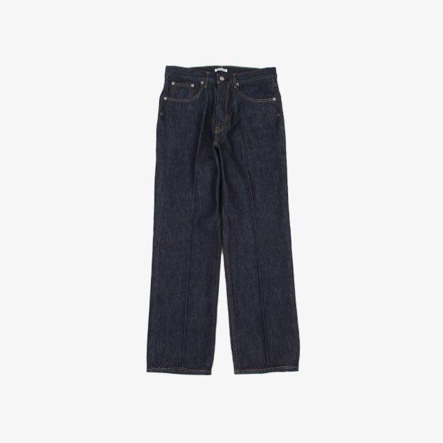 AURALEE HARD TWIST DENIM 5P PANTS [A00P01DM]