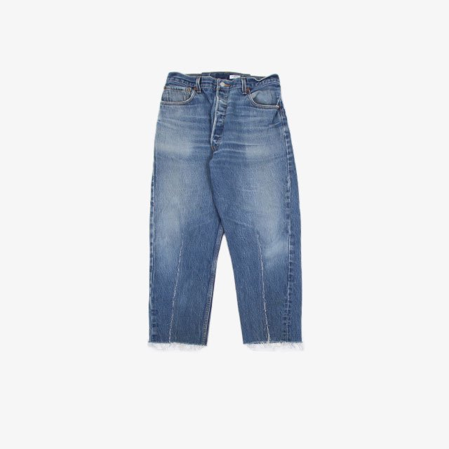 OLD PARK BALLOON JEANS Blue [OP-416]