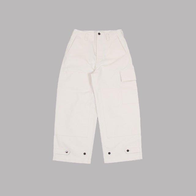 amachi. Double Knee Cargo Pants Off White [AY9-20]