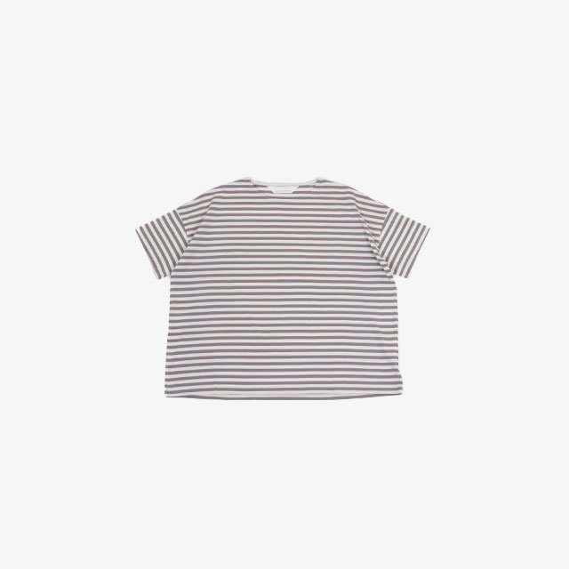 ANDER SS STRIPE BOX TEE [A-24]