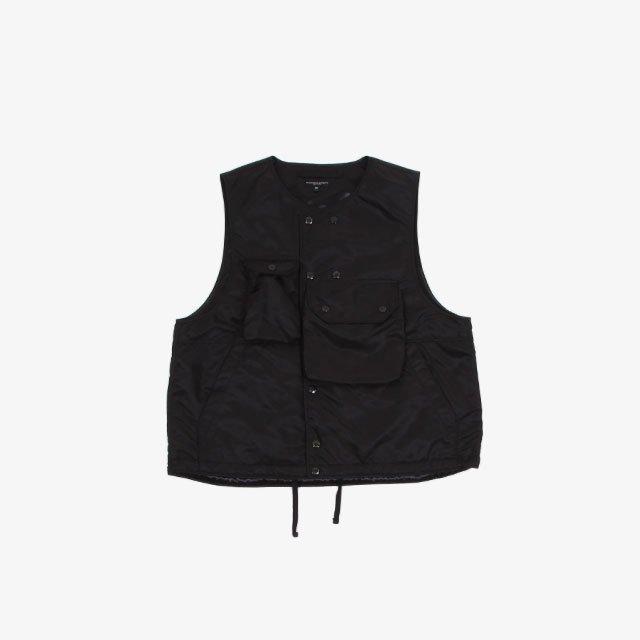 Engineered Garments Cover Vest – Flight Satin Nylon [JL092]