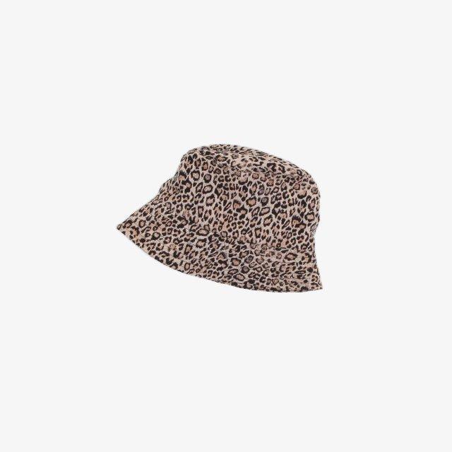 Engineered Garments Bucket Hat – CP Leopard Jacquard Beige [JL241]